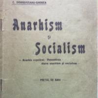 Anarhism și socialism (1908)